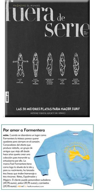 Feel Formentera en Fuera de Serie