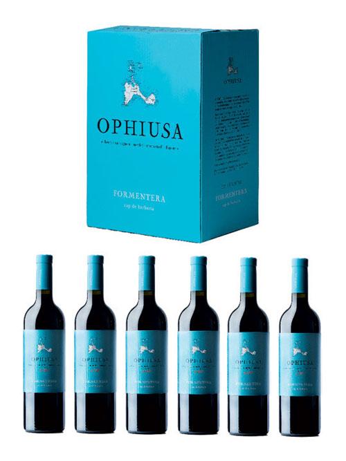 El vino Ophiusa, de la bodega  Cap de Barbaria