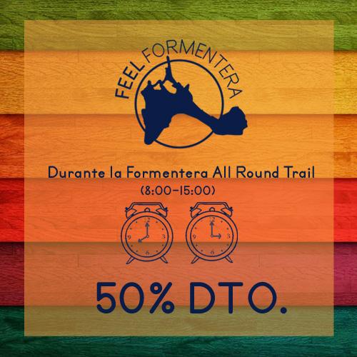 50% de descuento Feel Formentera